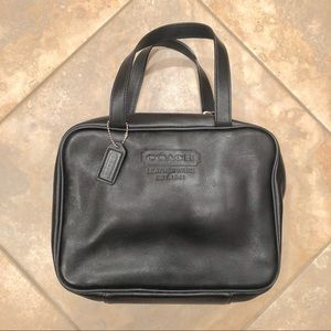 Coach Leather Shave / Cosmetic Bag